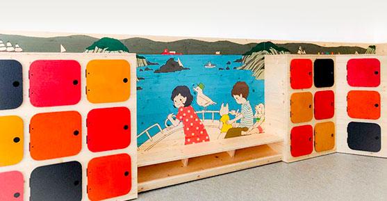 des meubles naturels en bois