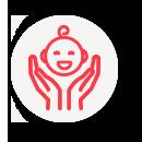 veiller au bien-être de l'enfant
